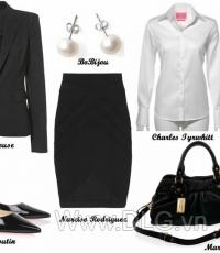 Áo vest mặc kèm phụ kiện thời trang 01