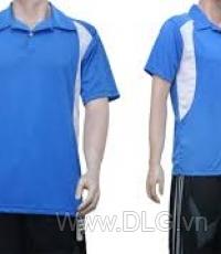 Đồng phục bóng đá trắng xanh