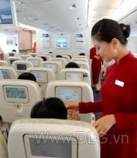 Đồng phục tiếp viên hàng không Vietnam Airlines
