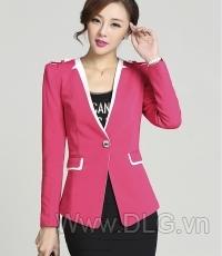 Vest nữ màu hồng đẹp