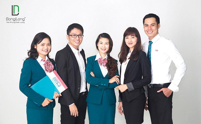 May đồng phục công sở đẹp tại Đông Long Đà Nẵng