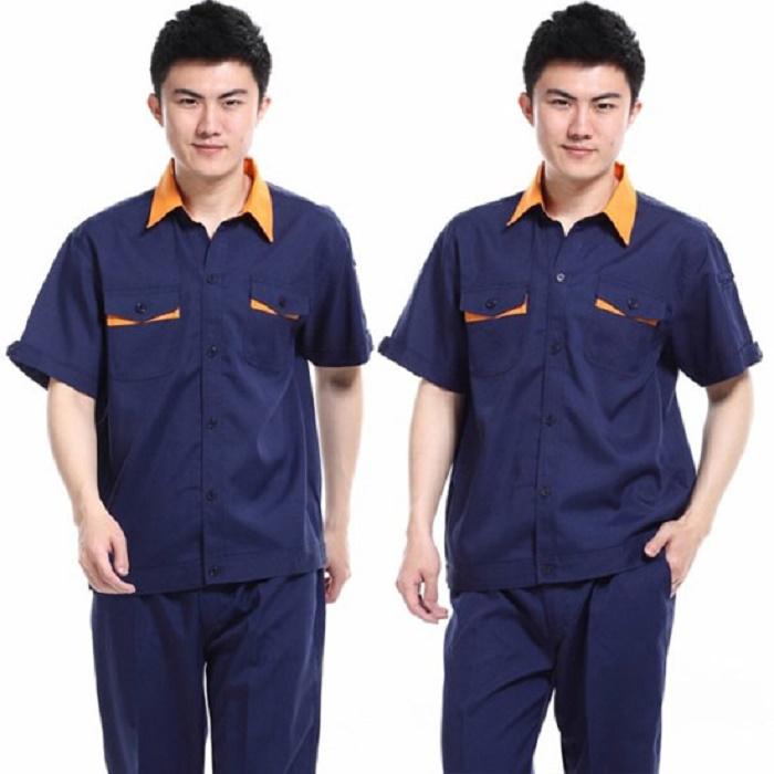 Đồng phục bảo hộ lao động tay ngắn