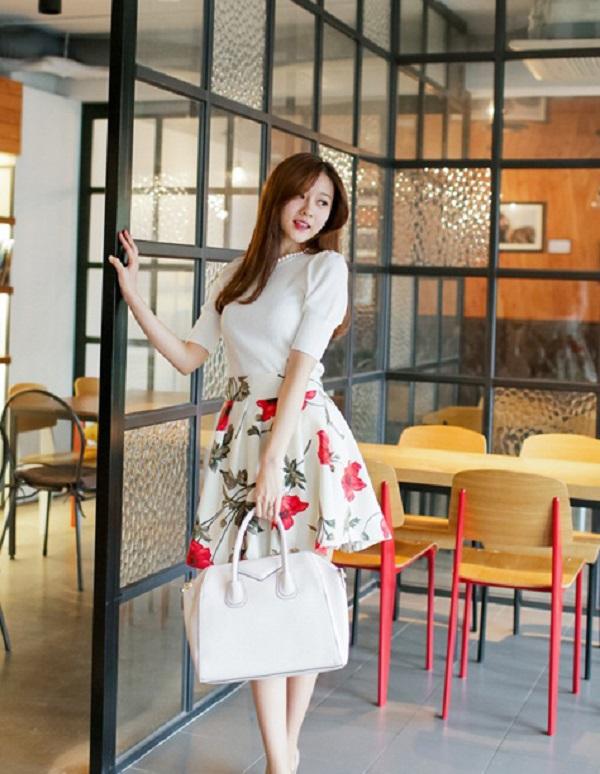Mix đồ với đồng phục váy công sở Đà Nẵng cực phong cách
