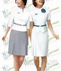 Đồng phục lễ tân mẫu 09