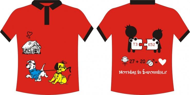 Đồng phục màu đỏ